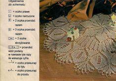 Kira knitting: Scheme knitted tablecloths 13