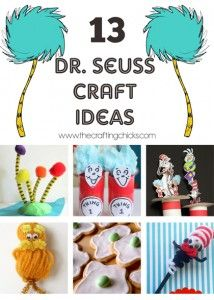13 Dr. Seuss Crafts You Will LOVE