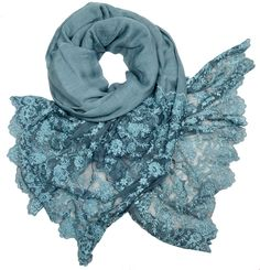 Gaynor Scarves, Spring Summer Collection 2016, Modal Linen Lace