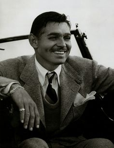 """Clark Gable - Robert Taylor said Gable """"was a great, great guy and certainly one of the great stars of all times, if not the greatest. I think that I sincerely doubt that there will ever be another like Clark Gable; he was one of a kind. Hollywood Men, Old Hollywood Glamour, Golden Age Of Hollywood, Vintage Hollywood, Hollywood Stars, Classic Hollywood, Clark Gable, Classic Movie Stars, Old Movie Stars"""