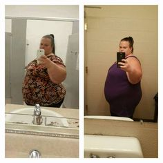 Amy on her way to achieving her healthy weight. 50 lbs down!
