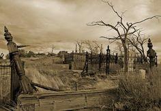 Silver Terrace Catholic Cemetery  Virginia City, NV