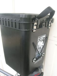 Picture of Black Bucket Panniers