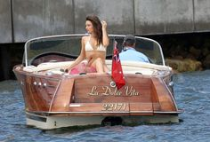 Instant Access to 518 Boat Plans Online - From Small Wooden Boat Plans To Large Sailboat Plans - Free Boat Plans Riva Boat, Yacht Boat, Boat Dock, Pt Boat, Sailing Boat, Wooden Speed Boats, Chris Craft Boats, Boat Companies, Runabout Boat
