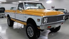 1972 Chevrolet C10 Cheyenne Pickup 350 CI, 4-Wheel Drive presented as lot F98 at Houston, TX 2015 - image1