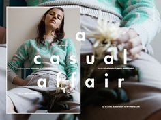 Stories Collective / A Casual Affair / Photography Duy Vo / Styling Hannah Van Well / Make up & Hair Siddharta / Model Fay at Paparazzi Model Management / Design Sabiye Knudsen