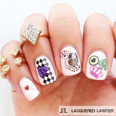 Lacquered Lawyer | Nail Art Blog: Sweet Suit