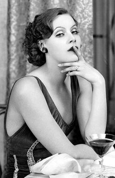 Beautiful Greta Garbo