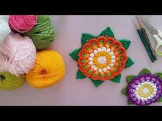 Motif Yapımı #dekoratif #battaniye #flowers #knitting #örgümodeli #kendinyap - YouTube Elsa, Crochet Earrings, Crochet Hats, Sultan, Crocheting, Medium, Tutorials, Flowers, Knitting Hats
