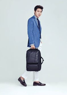 Lee Min Ho - Samsonite Red 2015