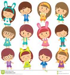 happy-children-clip-art-set-vector-file-can-be-scaled-to-any-sizes-losing-resolution-45186377.jpg (1300×1390)