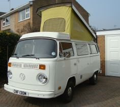 VW Campervan 1974, T2, Rust free California Import, LHD. Westfalia.