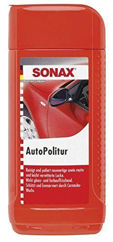 SONAX 300200 AutoPolitur 500 ml Lackpflege Autopflege Politur Autoreinigung