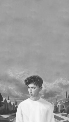 B&W || Blue Neighborhood Album Art || Troye Sivan