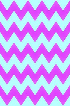 Pink and blue chevron wallpaper pattern