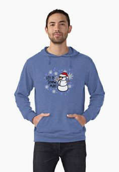 """Funny Snowman - """"Let it Snow, Man"""" by JustKiki"""