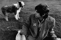 Paul McCartney with Martha (my dear) his Old English Sheepdog by Linda McCartney