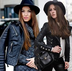 How To Select A Leather Jacket For Your Body Shape - http://www.girlishmag.com/beauty-fashion/how-to-select-a-leather-jacket-for-your-body-shape.html