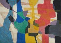 Maria Jarema (1908-1958) Polska malarka, rzeźbiarka i scenografka. Związana mocno z teatrem Cricot 2, dla którego przygotowywała scenografię i kostiumy. Rzeźbę studiowała u Xawerego Dunikowskiego. Kolejno realizowała się malarsko - interesowało ją zagadnienie przestrzeni, rozwiązania fakturowe i postać ludzka, która dawała jej pretekst do eksperymentów formalnych. Umiejętnie balansowała na granicy malarstwa figuratywnego i abstrakcji, co stało się jej znakiem rozpoznawczym.
