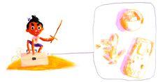 A falta de gameboy y de amigos me tocaba atesorar un tetris (Lo bueno era 9999 en 1), una pokebola de las primeras y una colección completa de digimons. . . . #illustration #illustrationartist #childrenbooks #childhoodweek