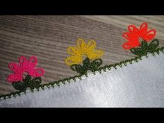 Make It Yourself, Knitting, Youtube, Crochet Decoration, Crochet Stitches, Tejidos, Grey, Embroidery, Tricot