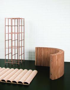 An ingenious use of veneer in Charlotte Pommet's and Elliot Kendall's design