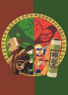'Gara Naruto' Poster by Design Mas   Displate