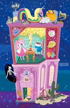 The Art Of Animation, Kassandra Heller