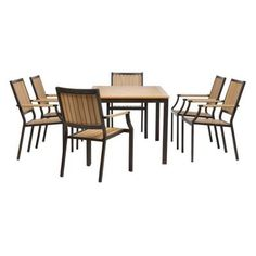 Home Decorators Collection Santa Rosa 7-Piece Patio Dining Set-0836730850 at The Home Depot