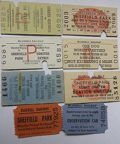 Image result for train ticket vintage uk