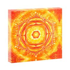 Mandala Energie Hochwertiges Leinwandbild von Querfarben Keilrahmen Poster 20553