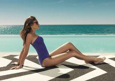 Outdoor Teppiche eignen sich wunderbar für den Bereich am Pool