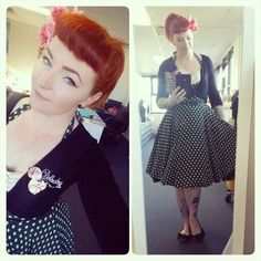 Bexterity looks like a doll in the  irish Polka Lena Tie Dress! Get yours now while it is on sale!