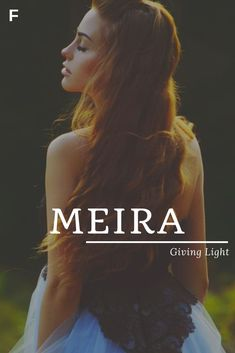 Name des Babys: Meira; Sinn: Licht geben – Larp – # Sinn … – Ba… – Baby Showers Name des Babys: Meira; Sinn: Licht geben – Larp – # Sinn … – Ba… – Baby Showers added to our site quickly. We have put together personal, meeting, party and more celebration … M Baby Girl Names, Country Baby Names, Strong Baby Names, Southern Baby Names, Baby Girl Names Unique, Rare Baby Names, New Baby Names, Unisex Baby Names, Popular Baby Names