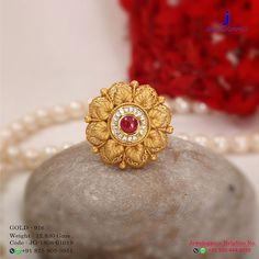 #rings #goldrings #puregoldrings #floralshapegoldrings #simplgoldrings Gold Ring Designs, Gold Earrings Designs, Gold Jewellery Design, Necklace Designs, Jewellery Box, Jewellery Shops, Jewelry Stores, Gold Rings Jewelry, Gold Bangles