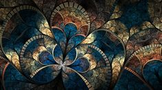 Wallpaper A Fractal Pattern, Abstract, Curves, Brightness, Multi wallpapers