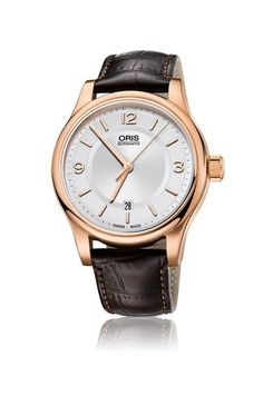 Oris 733-7594-4831-LS Classic Date 42mm Mens Watch