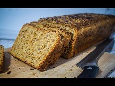 Banana Bread, Breakfast Recipes, Healthy Eating, Cooking, Desserts, Food, Youtube, Brown Bread, Seeds