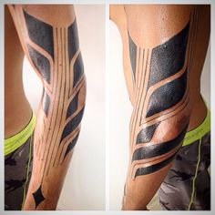 Tattoo tatuagem black art tribal moderno