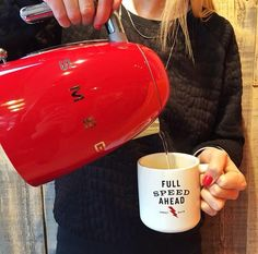 Have you checked out West Elm Market Vancouver's new kettles from Smeg? They are available in 9 different colours and feature a stainless steel body with 7 temperature settings. Order yours today!
