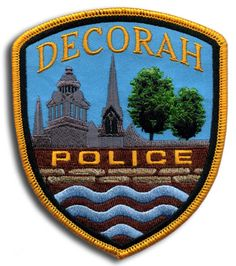 Decorah Police Patch