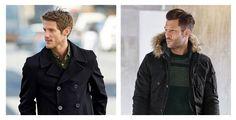 Oblečenie v miernejšom zimnom počasí.
