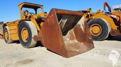 Used Load haul Dumper GHH http://blog.ito-germany.de/search/label/Fahrlader  #Fahrlader GHH FL 12 GHH FL 10 tunneling loader for Underground Mining