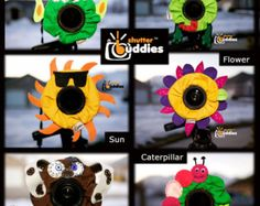SPECIAL Shutter Buddies 12 for 7 With Squeakers Camera Lens Accessories