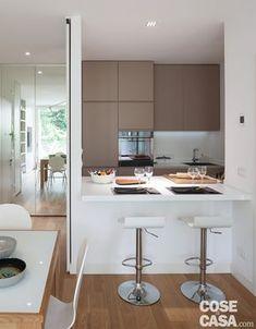 Arredamento cucine piccole: un progetto per meno di 6 mq | Pinterest ...
