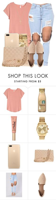 Prima donna//Vince staples by maiyaxbabyyy on Polyvore featuring H&M, Charlotte Russe, Chanel, Michael Kors, Gucci and Too Faced Cosmetics