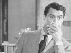 """Cary Grant in """"My Favorite Wife""""(1940)."""