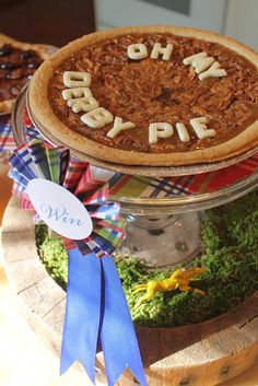 The Polohouse Derby Day party. This little pie took the cake!