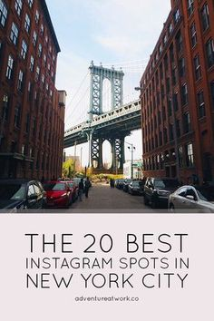 Want to know the most photogenic places in NYC for your instagram? Read this article about the 15 best instagram spots in New York!