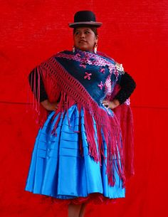 """Bolivia's """"cholitas"""" are riding the crest of a resurgence that has seen them transform from being """"maids of the middle classes"""" who were routinely stereotyped and discriminated against, to having real clout in the economic, political and fashion worlds. 